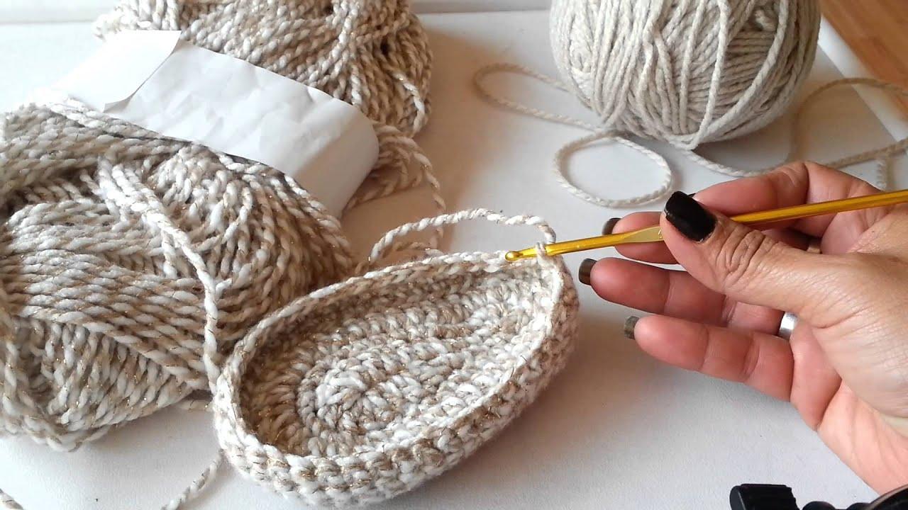Botitas largas tejidas para niñas de 0-3 a 3-6 meses parte 2 - YouTube