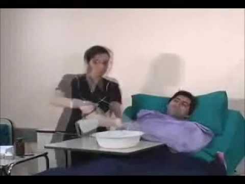 Corte de vello pubico enfermeria