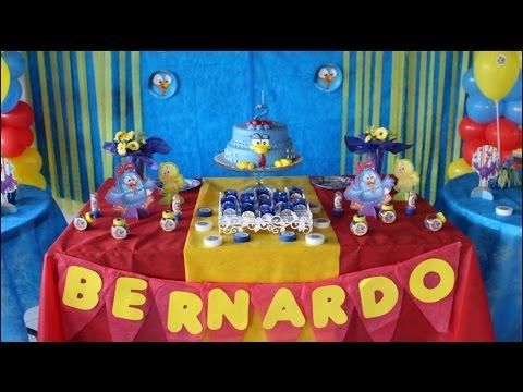 A FESTA, DECORAÇÃO, #bernardofaz2, Galinha Pintadinha