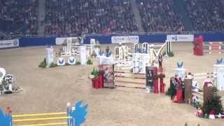 Malin Baryard Johnsson och Corporal VDL, Stockholm Horse Show 2014