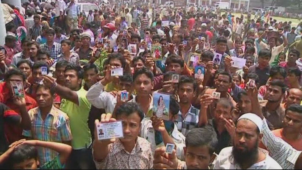 rana plaza building collapse  death toll continues to rise