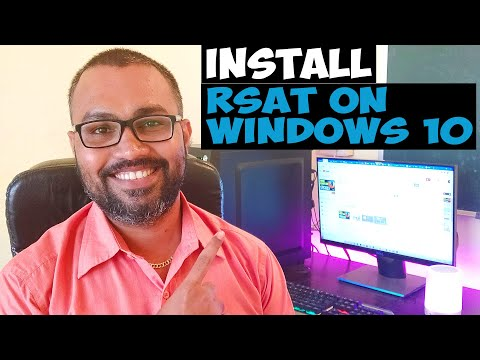 How To Install RSAT On Windows 10 1909 Computer | Windows 10 Admin Tools Installation