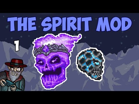Terraria #1 HUGE MOD FOR PC! - 1.3.5 Spirit Mod Let's Play