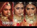 Padmavati| Ghoomar song Inspired Makeup | Deepika Padukone | MakeupbyAzmeree