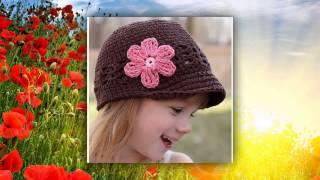 вязание крючком летние шапочки
