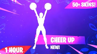 Fortnite - CHEER UP Emote (1 heure) (Téléchargement musical inclus)