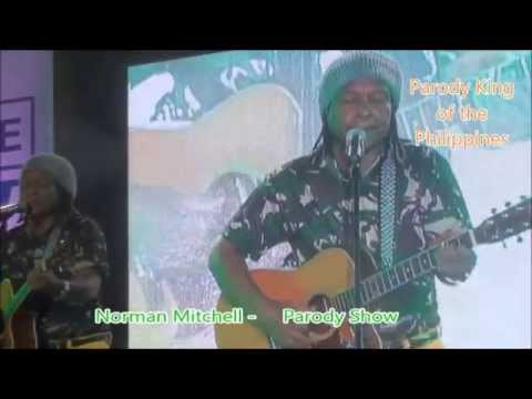 Norman Mitchell Stannd up Comedian Comedy King sings Hello Monalisa Parody in Manila Philippines