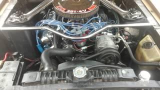 Side exhaust JBA mustang 68 351W