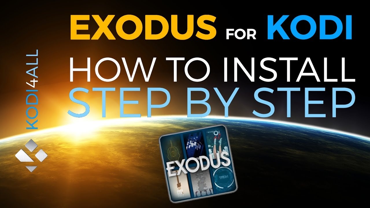 how to download exodus on kodi step by step