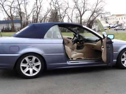 2000 bmw 3 series 323ci 2dr convertible leesburg virginia youtube. Black Bedroom Furniture Sets. Home Design Ideas