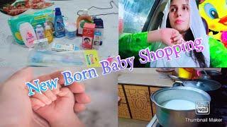 New born Baby ki Shopping 👶