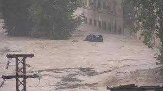 Schwere Unwetter in Valencia: 200 l Regen pro Quatrameter in 6 Stunden