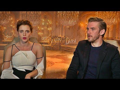 Emma Watson Luke Evans And Josh Gad Interviewed Por Eric Nam