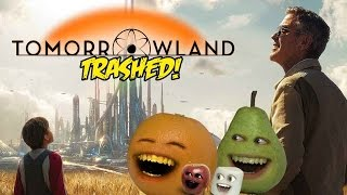 Annoying Orange - TOMORROWLAND TRAILER Trashed!!