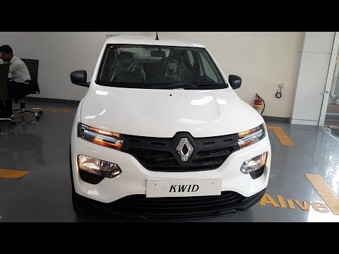Renault Kwid 2019   Facelift Variant Price Features Average & Full Specification Detailed Review