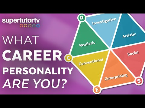 What Career Personality Are You? The Six Career Personality Types (Holland Codes)