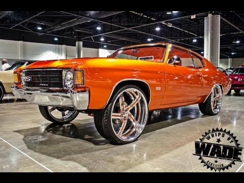 Youngblood Kreations 1972 Chevrolet Chevelle on 24 ...