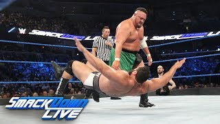 The Miz serves as special guest referee in this battle between Men'...