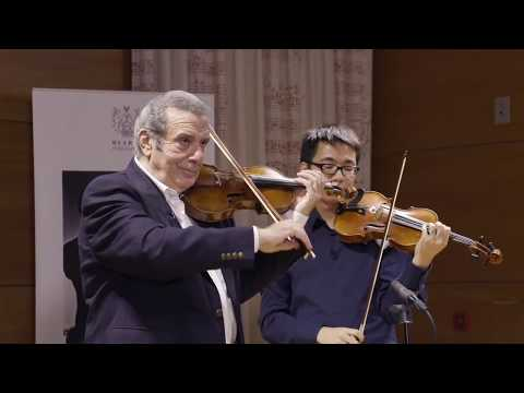 RAM Masterclass : The Violin in 5ths Explained by Rodney Friend