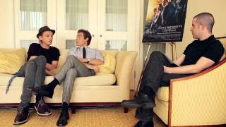 Jamie Campbell Bower and Kevin Zegers talk