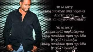 Sorry Song - Brian McKnight - MidiKaraoke