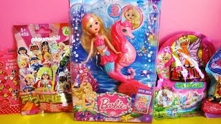 Barbie Pearl Princess Mermaid & Seahorse, Minnie Mouse, Playmobil, LPS, Filly