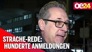 Strache-Rede: Hunderte Fans melden sich an