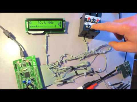 FM Receiver (Radio Tuner) Si4702 using the STM32F4 - Discovery
