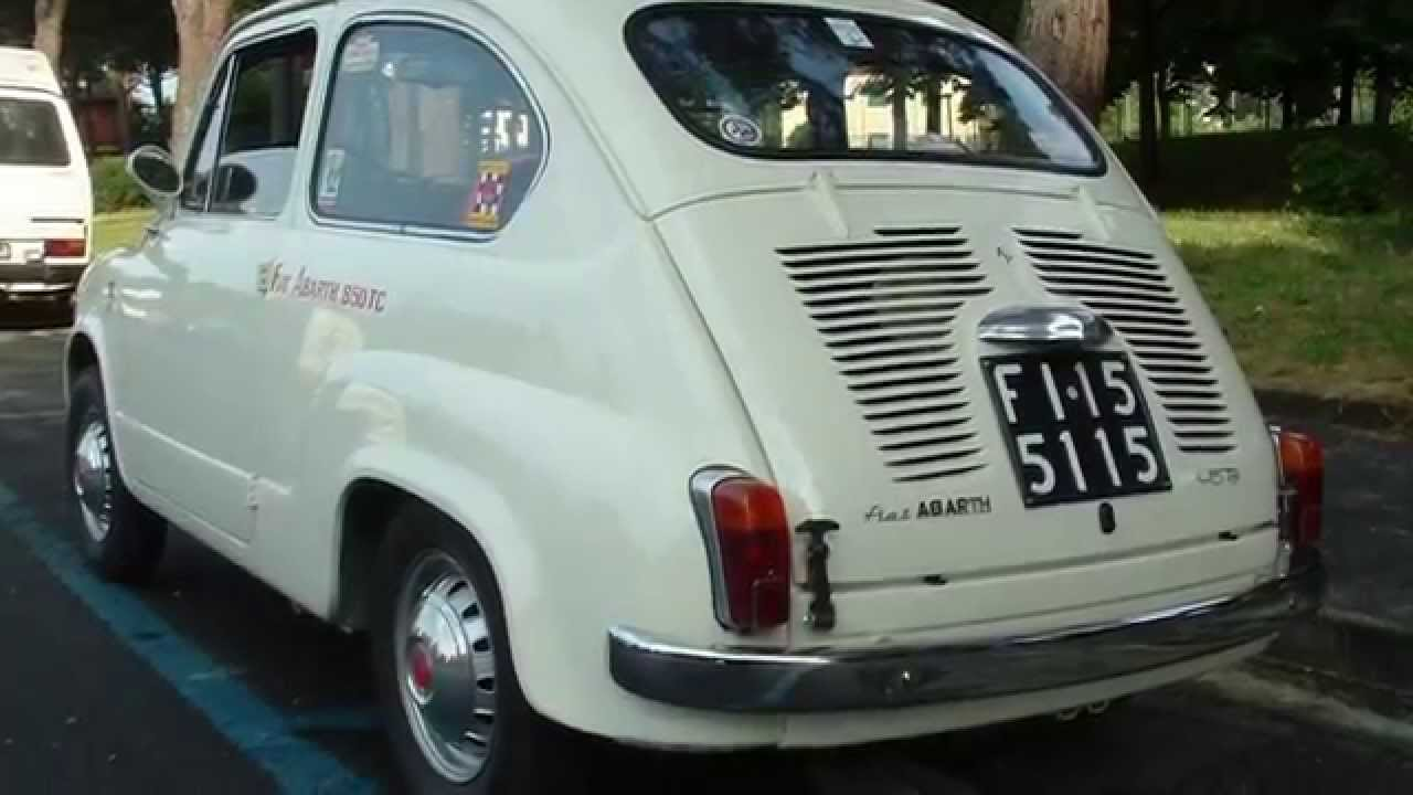 Fiat Abarth 850 Tc 1961 Autotecnica Papini Firenze Youtube