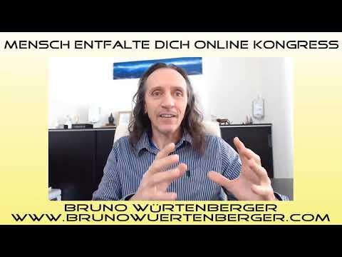 Online Kongress, 4.17, Interview 30 - Bruno Würtenberger, Free Spirit, Bewusstseins-Trainer