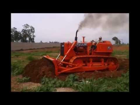 Trator de esteira Fiatallis AD14 R$70 mil Rodante Novo