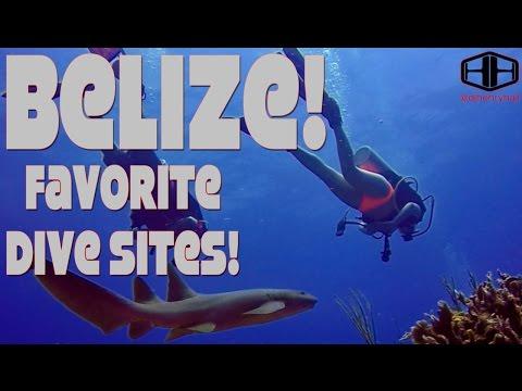 Belize Favorite Diving Sites