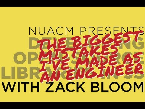 NUACM Presents Zack Bloom's Software Engineering Horror Story