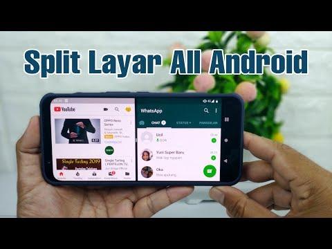 Cara Split Layar Di Semua Hp Android