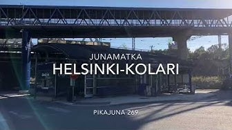 Yöjunalla  Helsingistä-Kolariin