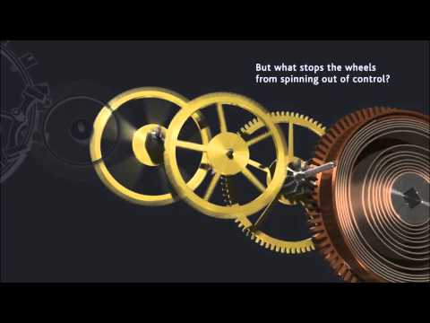 pocket watch movement diagram 4 wire trailer wiring troubleshooting how a works mechanical youtube