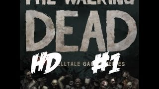 """Lets Play The Walking Dead: The Game Episode 1: """"A New Day"""" - Part 1 - Introduction"""