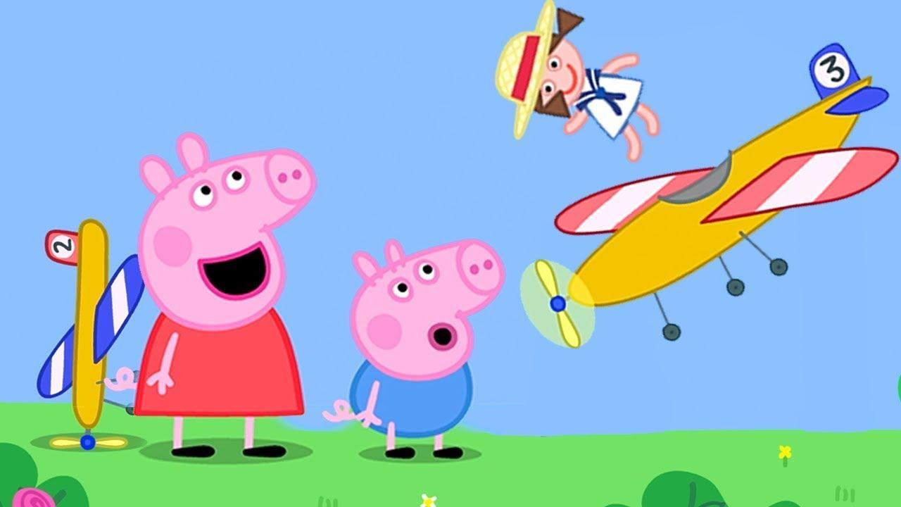 Opas Spielzeugflieger NEU! ⭐ Cartoons für Kinder | Peppa Wutz Neue Folgen