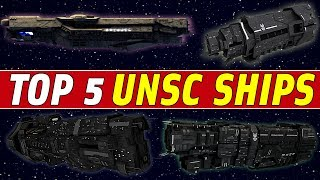 5 Most Powerful UNSC Ships EVER | Halo: Top 5
