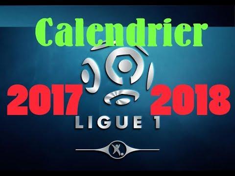 Ligue 1 - le calendrier de la saison 2017/2018