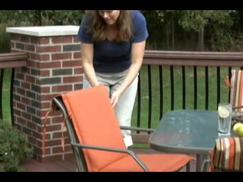 Sling Chair Cushions By Arden Companies Youtube