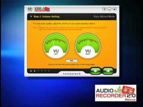 honestech audio recorder 2.0 deluxe