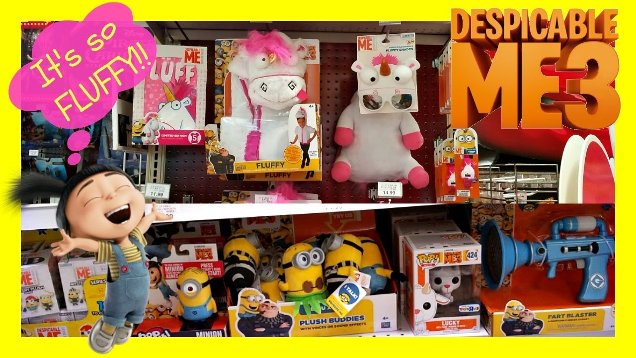 Despicable Me 3 Toy Hunt At Toys R Us Its So Fluffy