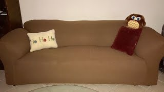 Chun Yi Couch Cover - Stretchy Cover for Large 3-Cushion Sofas
