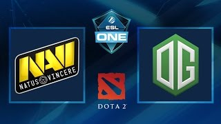 dota 2 navi vs og game 3 esl one frankfurt 2016 grand final