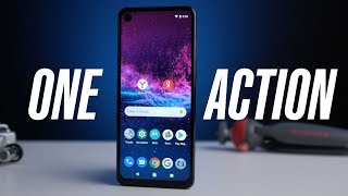 Motorola One Action — мощный смартфон с action-камерой