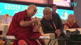 His Holiness' remarks during the Int'l Conference on 'Mind and Modern Science'