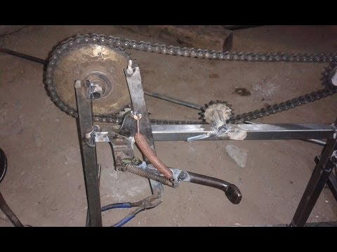 Automatic Sprocket Side Stand Retrieval Mechanical Engineering Mini Project Topics
