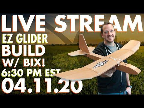 Live Build with Bix! | The Wonder Glider (EZ Glider)