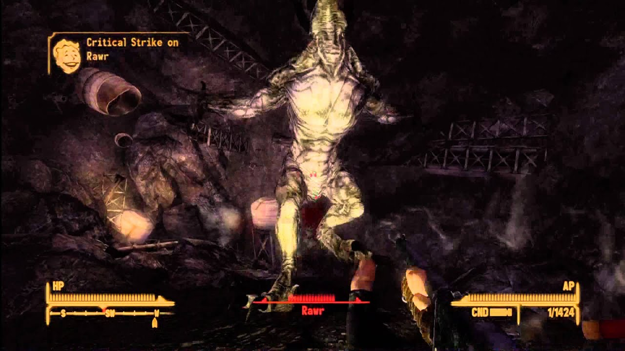 Rawr Rawrs Talon Location Spoiler Fallout New Vegas Lonesome Road HD 1080p